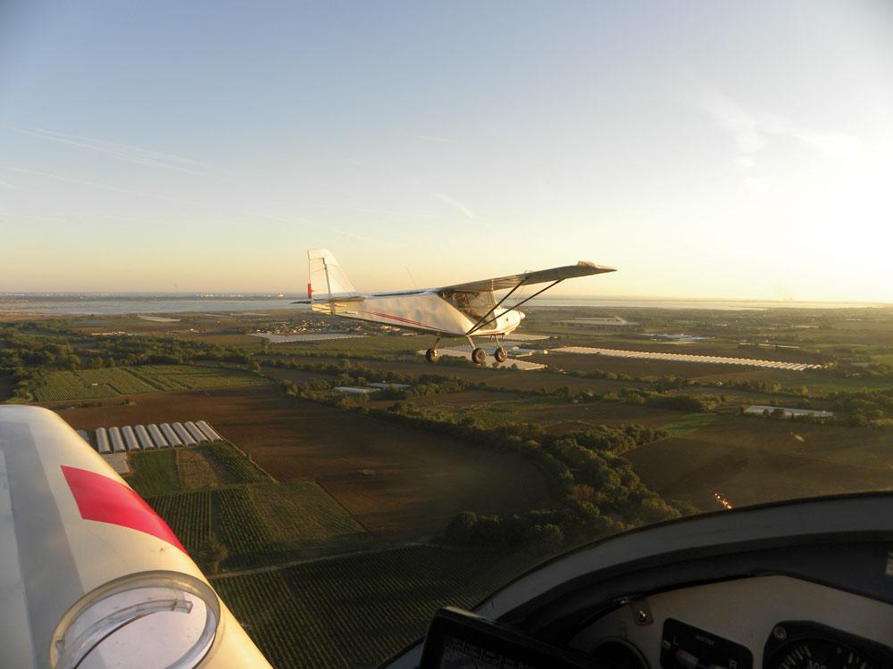 Baptême ULM aérodrome de Cadillargues