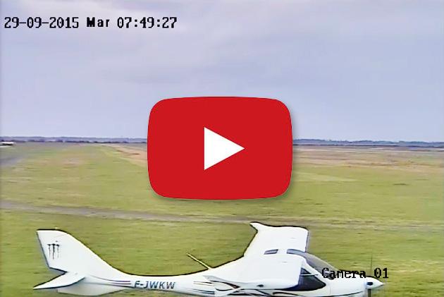 La caméra en direct de l'aérodrome de Candillargues